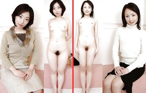 Hairy Dressed Undressed Beauties