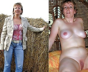 Heres More Mature Dressed Undressed Beauties