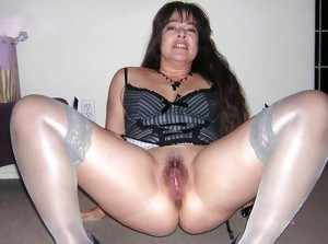 Moms showing and spreading pussy