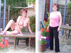 Still More Dressed Undressed Mature Beauties