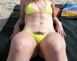 Hairy Girls In Bikini's