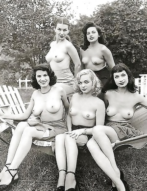 Groups Of Naked Women - Vintage Edition - Vol. 1