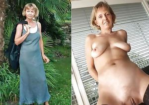 More Mature Dressed Undressed Beauties 3