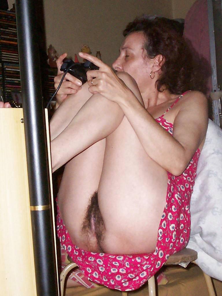 Mom nude hairy Mom Fuck